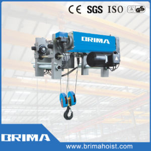 Brima 20t Low Headroom Double Girder Electric Wire Rope Hoist pictures & photos