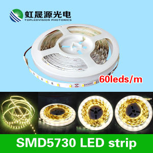 High Quality 60LEDs/M SMD5630 (5730) LED Strip Light 12V 24V DC (CE, RoHS) pictures & photos