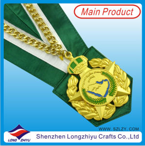 Medal Holder Chef Medal with Lanyard pictures & photos