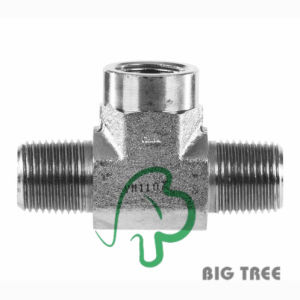 Stainless Steel 316 NPT Branch Tee Tube Fitting pictures & photos