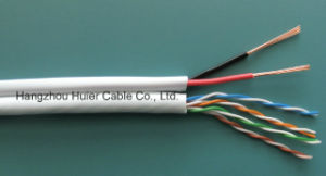 UTP Cat5e Siamese Cable pictures & photos