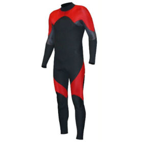 High Heat-Insulating Property Men′s Long Sleeve Wetsuit pictures & photos
