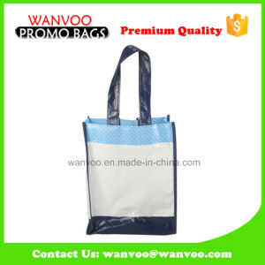 PP Lamination Brown Grocery Tote Shopping Packaging Bag with Handles pictures & photos