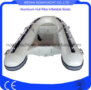PVC /Hypalon Inflatable Aluminum Rib Boat or Tender for Fishing pictures & photos
