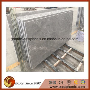 Chinese Leopard Silver Marble (Cut to size) Tile pictures & photos