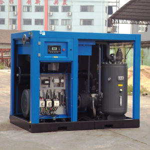 110kw Rotary Screw Air Compressors for Factory pictures & photos