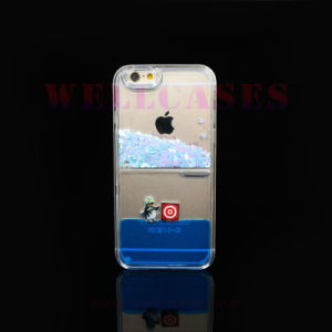 Wholesale Star Quicksand Animal Liquid Oil Phone Case for iPhone5/6/6plus