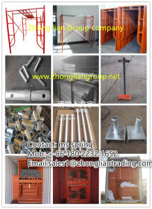 Scaffolding / Steel Prop/Jack Base/U Head Jack for Africa Markets pictures & photos