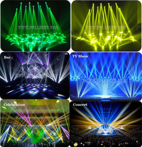 2016 New DJ Lighting 1r 120W Beam Moving Head Light pictures & photos