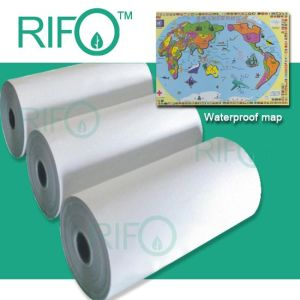 Double Side Coating PP Synthetic Paper for Offset Printing (RPH150-500) pictures & photos