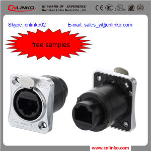 RJ45 Shielded Chassis/RJ45 Panel Mount Connector/Surface Mount RJ45 Jack pictures & photos