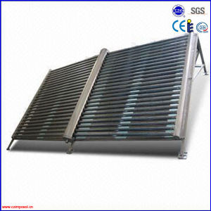 2016 Pressurized Metal Glass Vacuum Tube Heat Pipe Solar Collector pictures & photos