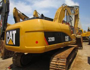 Used Cat Hydraulic Crawler Excavator/Secondhand Caterpillar Walking Excavator (320d)