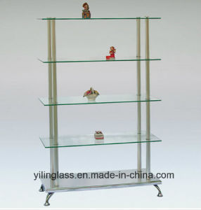 Tempered Display Rack Glass with Ce Certificate pictures & photos