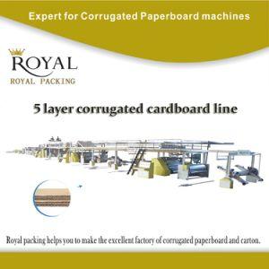 5 Ply Corrugation Machine Production Line pictures & photos