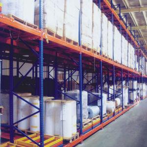 Warehouse Storage Push Back Pallet Rack pictures & photos