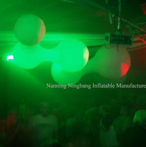 Party Decoration Inflatable Balloon with LED Light for Event