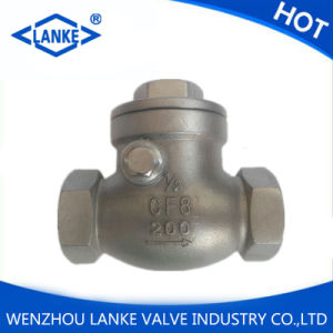 """3/4"""" Stainless Steel Female Threaded Swing Check Valve pictures & photos"""