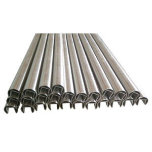 Stainless Steel Fluted Tube