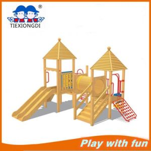 Superior Wooden Playgrounds for Entertainment pictures & photos