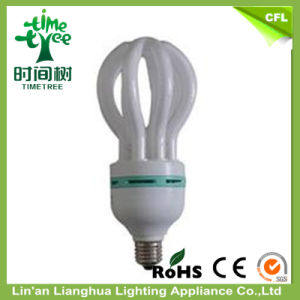 Ce RoHS Lotus Tricolor 85W Energy Saving Lamp Lighting pictures & photos