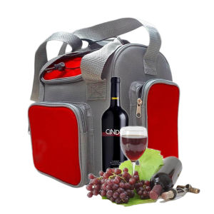 Electronic Soft Cooler Bag 13liter DC12V for Cooling Red Wine pictures & photos