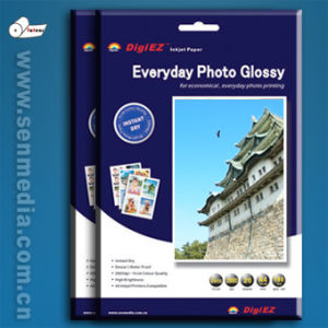 180g Single Side Mirror Glossy Inkjet Photo Paper pictures & photos