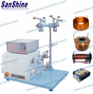 Two Spindles Automatic High Torsion Thick Wire Coil Winding Machine (SS852) pictures & photos