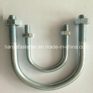 Hot China Products Wholesale Custom Grade 12.9 Coated Zinc Stainless Steel Standard U Bolt