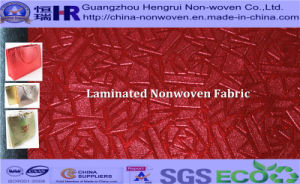 Metallic Laminated PP Nonwoven Fabric for Shopping Bag (NO. A12G003)