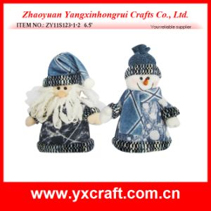 Christmas Decoration (ZY11S123-1-2) Christmas Snowman Ornament pictures & photos