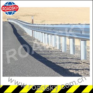 Road Safety Galvanized Corrugated Crash Barrier pictures & photos