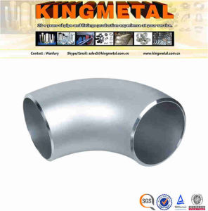 ASME B16.9 / JIS B2313 Butt-Welded Stainless Steel Elbow pictures & photos