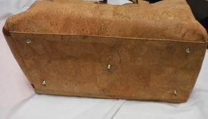 New Designs Eco-Friendly Nature Cork Leather Men Briefcase dB10) pictures & photos