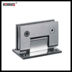 90 Degree Stainless Steel Glass to Wall Hinge (HR1500G-1) pictures & photos