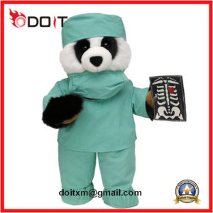 Doctor Panda Halloween Gifts Plush Toy pictures & photos