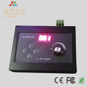 12-24VDC Single Channel RGB/RGBW Knob Dimming DMX512 Master Driver pictures & photos