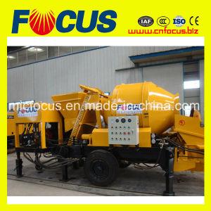 Jbt30 Portable Diesel Concrete Mixing Pump for Pumpcrete Use pictures & photos