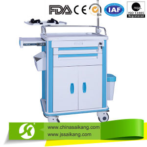 Hospital Luxury Infusion Treatment Trolley pictures & photos