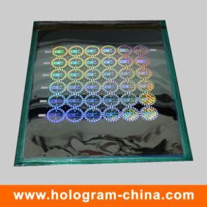 2D/3D Security Laser Hologram Master pictures & photos