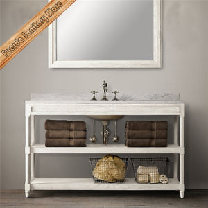 Hot Sale New Solid Wood Bathroom Vanity Cabinet pictures & photos