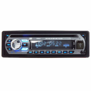 One DIN Fixed Panel Car DVD Player Ts-6004f pictures & photos