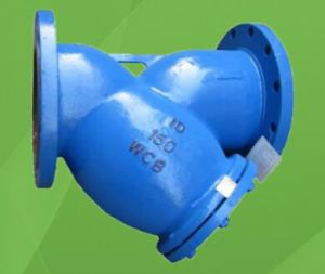 Ductile Iron Y Strainer (GAGL41H) pictures & photos