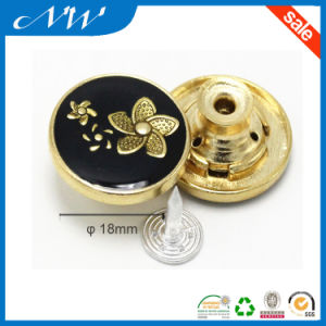 Wholesales Stylish Metal Alloy Button for Denim Jeans