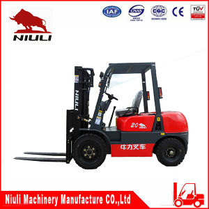 2t Diesel Forklift with CE and ISO9001 Certificates pictures & photos