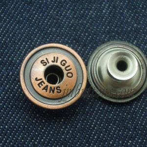 Bronze Custom Design Rivet Fashion Metal Jeans Buttons pictures & photos