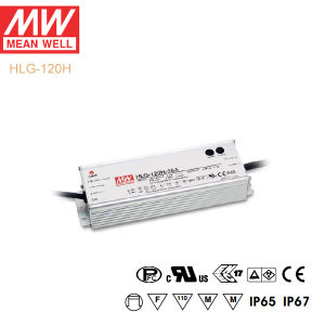 Original Meanwell Hlg-120h Series Single Output Waterproof IP67 LED Driver pictures & photos