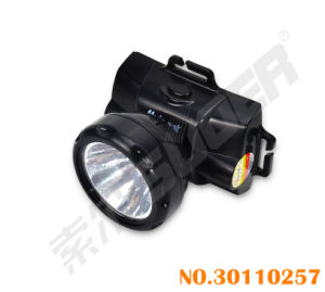 Black Color Factory Price Rechargeable Headlamp LED Torch with Charger (LD-517A-Black) pictures & photos