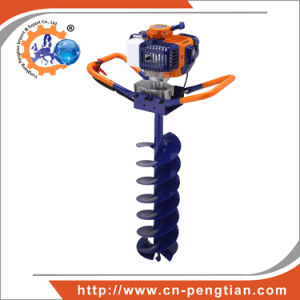 Post Hole Digger 52cc 1.7kw Earth Auger with 100mm150mm 200mm Auger Bits pictures & photos
