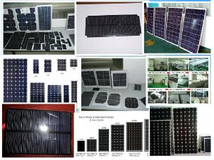 High Quality Monocrystalline Solar Module (30W - 300W) for Power Plant pictures & photos